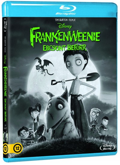 Tim Burton - Frankenweenie - Ebcsont beforr - (Blu-ray)