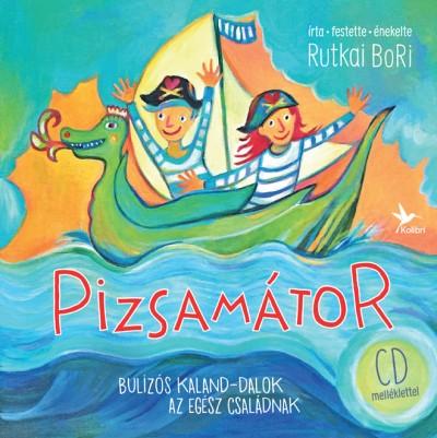 Rutkai Bori - Pizsamátor -CD melléklettel