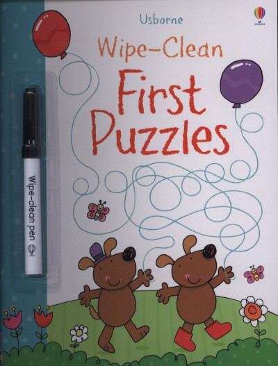 Jessica Greenwell - Wipe-Clean First Puzzles