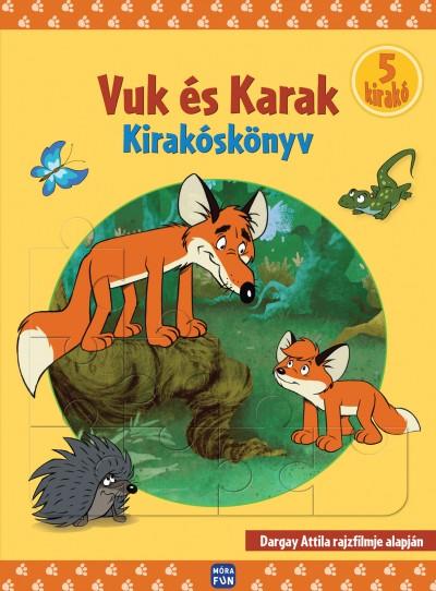 Dargay Attila - Vuk és Karak - Kirakóskönyv