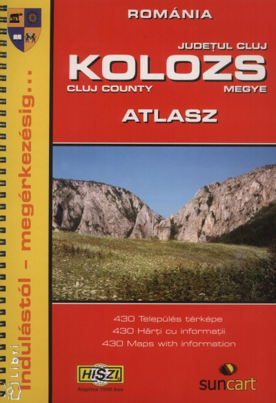 - Kolozs megye atlasz