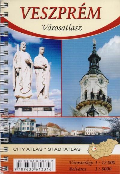 - Veszprém városatlasz - 1:12000