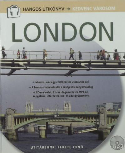 Cooper Eszter Virág  (Szerk.) - London - Hangos útikönyv