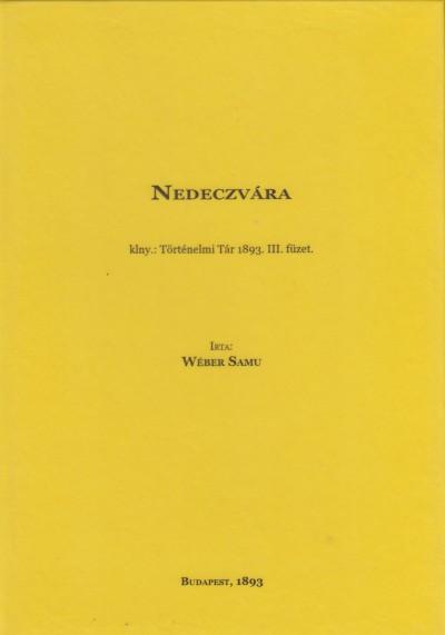 Samu Weber - Nedeczvára