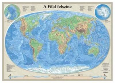 - A Föld felszíne plasztikus jellegű felszínábrázolással