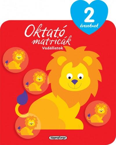 - Oktató matricák - Vadállatok (2 éveseknek)