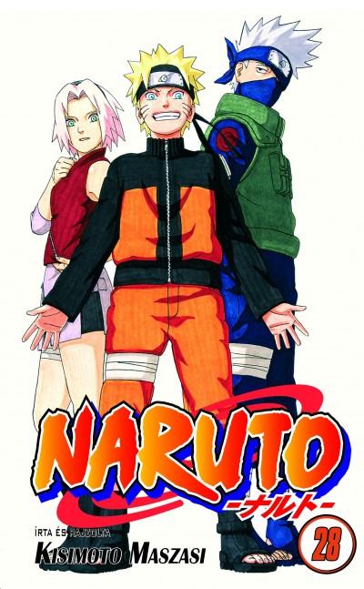 Kisimoto Maszasi - Naruto 28.