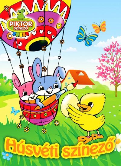 - Húsvéti színező