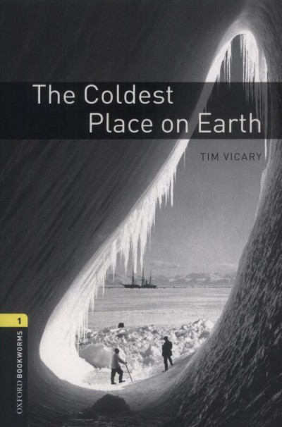 Tim Vicary - The Coldest Place on Earth - CD Inside