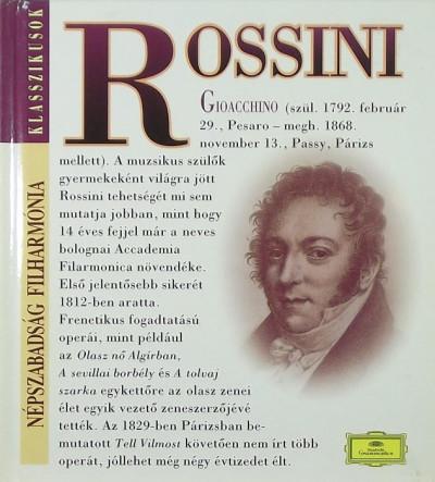 - Gioacchino Rossini (1792-1868) + CD