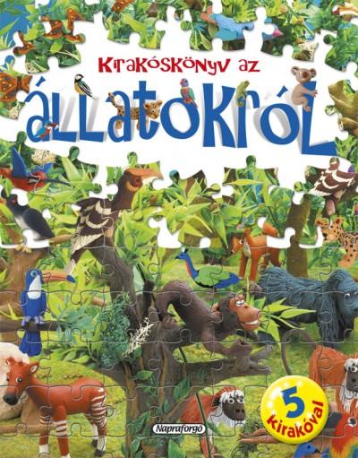 - Nagy kirakóskönyv - Kirakóskönyv az állatokról