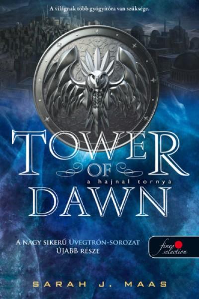 Sarah J. Maas - A hajnal tornya (Üvegtrón 6.) - puha kötés