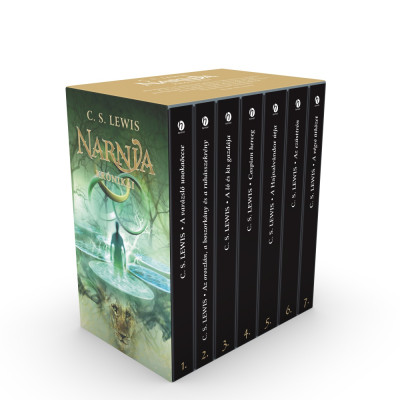 C. S. Lewis - Narnia krónikái - díszdobozos kiadás