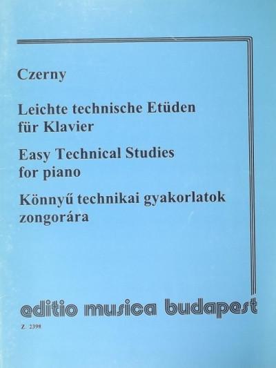 - Leichte technische Etüden für Klavier - Easy Technical Studies for piano - Könnyű technikai gyakorlatok zongorára