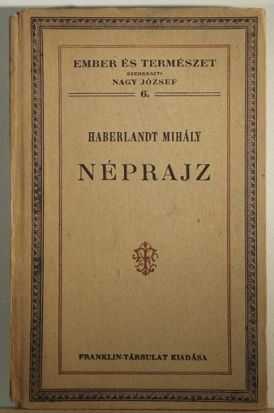 Haberlandt Mihály - Néprajz