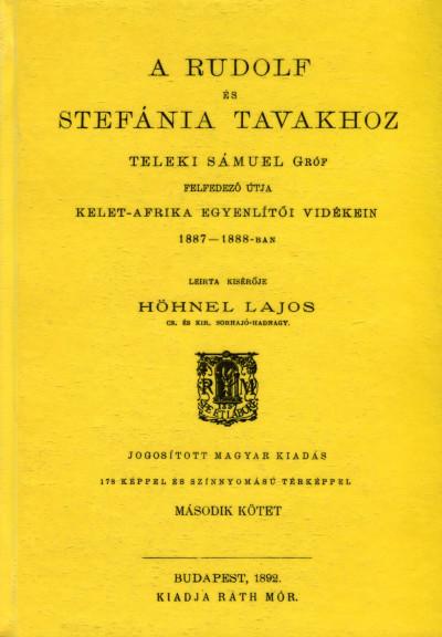 Hönhel Lajos - Teleki Sámuel felfedező útja II.