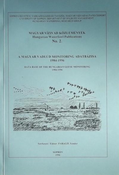 Faragó Sándor  (Szerk.) - Magyar Vízivad Közlemények - Hungarian Waterfowl Publications No.2.