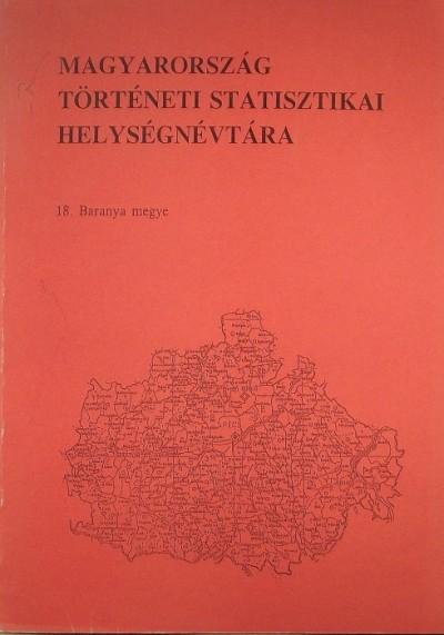 Kovacsics József  (Szerk.) - Magyarország történeti statisztikai helységnévtára