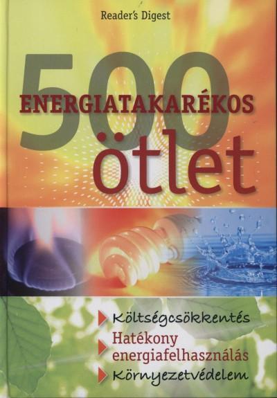 - 500 energiatakarékos ötlet