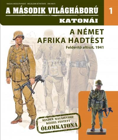 - A Német Afrika hadtest - Felderítő altiszt, 1941