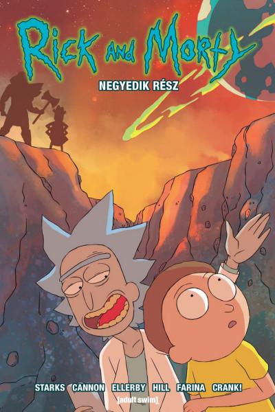 Marc Ellerby - Kyle Starks - Rick and Morty - Negyedik rész