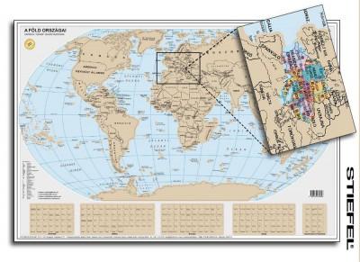 - Stiefel Föld kaparós térkép poszter
