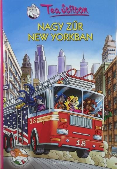 Tea Stilton - Nagy zűr New Yorkban
