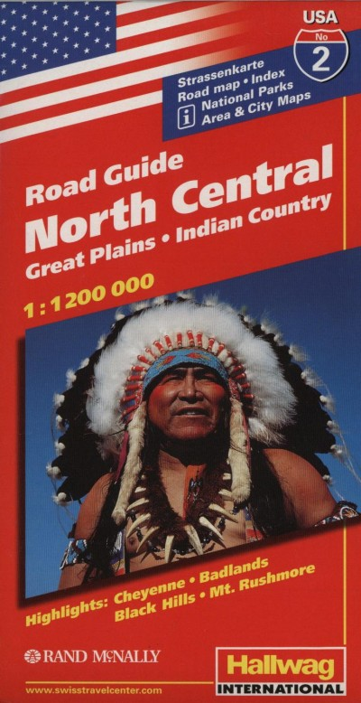 - Road Guide USA - North Central - Great Palins -Indian Country