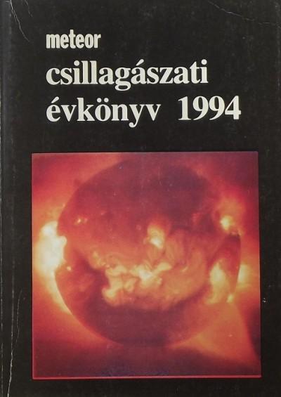 Taracsák Gábor  (Szerk.) - Meteor csillagászati évkönyv 1994