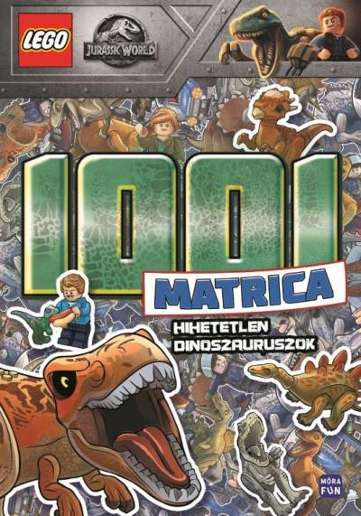 - LEGO Jurassic World 1001 matrica - Hihetetlen dinoszauruszok