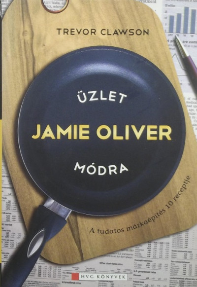 Trevor Clawson - Üzlet Jamie Oliver módra