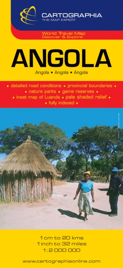 - Angola - Világjárók térképei