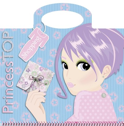 - Princess TOP - Shopping (blue)