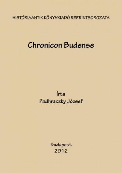 Podhradczky József - Chronicon Budense
