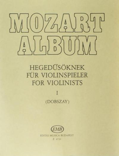 - Mozart album hegedűsöknek I.