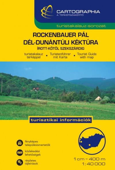 - Rockenbauer Pál Dél-Dunántúli Kéktúra 1:40 000