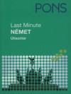 T�th �kos (Szerk.) - Pons Last Minute �tisz�t�r - N�met