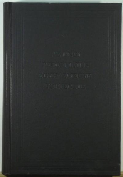 Haraszy Károly  (Szerk.) - Az ungi református egyházmegye