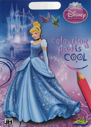 Disney Hercegnők - Hamupipőke színező szett d6fa1e06f8