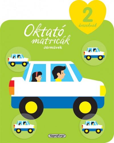 - Oktató matricák - Járművek (2 éveseknek)