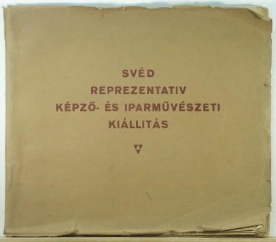 - Svéd reprezentatív képző- és iparművészeti kiállítás katalogusa