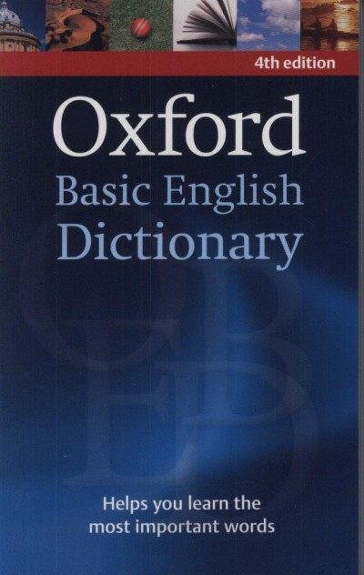 - Oxford Basic English Dictionary