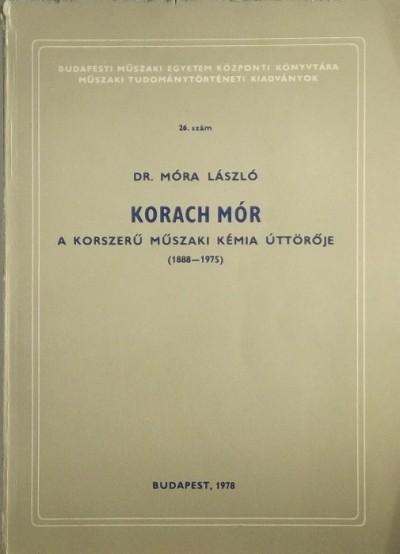 Móra László - Korach Mór