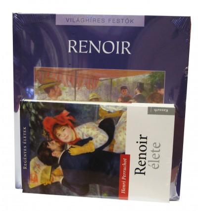 Henri Perruchot - Hajnal Gabriella  (Szerk.) - Renoir élete + Világhíres festők: Renoir album