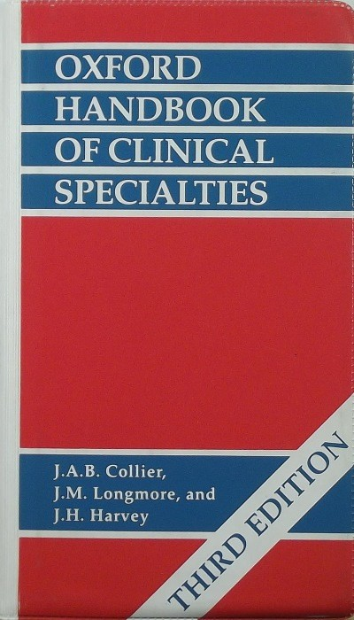 - Oxford Handbook of Clinical Specialties