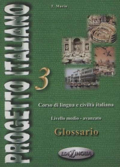 Telis Marin - Progetto Italiano 3. - Glossario