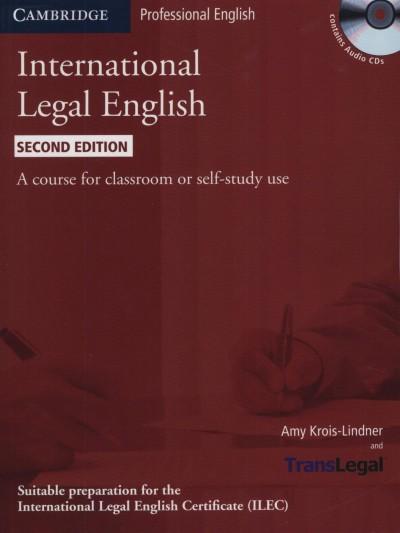 Amy Krois-Lindner - International Legal English SB + audio CD