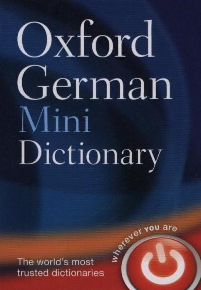 - Oxford German Mini Dictionary