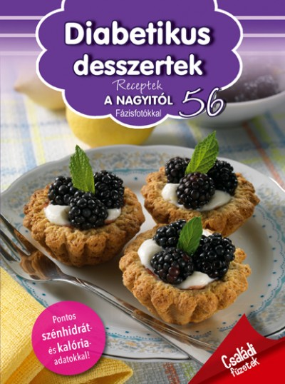 Dávid Ildikó  (Szerk.) - Receptek a Nagyitól 56. - Diabetikus desszertek