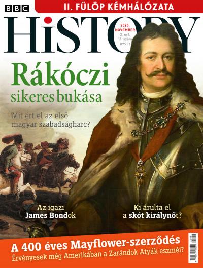 Győrffy Iván  (Szerk.) - Litván Dániel  (Szerk.) - BBC History - 2020. X. évfolyam 11. szám - November